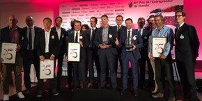 L'ensemble des lauréats, récompensés le 22 septembre au stade Ernest Wallon de Toulouse