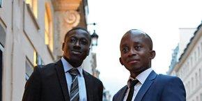 Yao Attignon et Lionel Menzna, deux ingénieurs trentenaires qui se sont connus lors d'une soirée de Networking et qui ont depuis fait mûrir leur projet