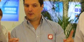 Fabrice Cohen, l'un des dirigeants de Woonoz
