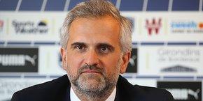 Stéphane Martin, président des Girondins de Bordeaux