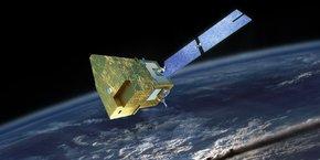La branche spatiale d'Airbus a conçu MicroCarb, le premier satellite français capable de mesurer la concentration de CO2 à l'échelle planétaire.