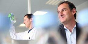 Marc Lemonnier (à droite) est le fondateur d'Antabio.