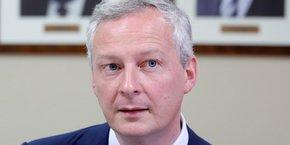 Bruno Le Maire avait présenté sa proposition de taxation sur le chiffre d'affaires des géants du numérique à la fin septembre aux ministres de l'Economie et des Finances de l'UE à Tallinn (Estonie).