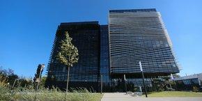 Thales accueille plus de 600 collaborateurs sur les huit étages de l'immeuble.