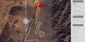 EarthCube a conçu un algorithme qui analyse les images satellites et détecte automatiquement les anomalies sur des sites sensibles.