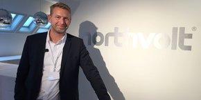 Peter Carlsson, CEO de la startup Northvolt. Et ancien directeur des achats de Tesla...