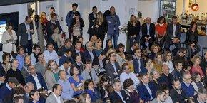 Près de 250 personnes à la Grande Posteordeaux pour la sortie du Startupper, guide annuel des startups et de leur écosystème dans la métropole bordelaise