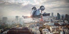 Le taxi aérien pourrait voler jusqu'à 350 mètres d'altitude.