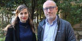 Magali Boisseau-Becerril, fondatrice de Bedycasa, et Marc Lavigne Delville, dirigeant de LSF à Montpellier et repreneur de Bedycasa.