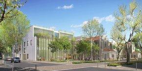 Le futur Conservatoire à rayonnement régional de Montpellier sera livré en 2020, sur le site de l'ancienne maternité Grasset, dans le quartier Boutonnet.