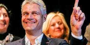 Laurent Wauquiez largement élu à la tête de LR dès le premier tour du 10 décembre