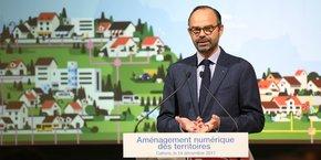 Édouard Philippe a présenté à Cahors le plan gouvernemental pour l'accès numérique dans les territoires.