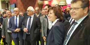Carole Dela a inauguré avec son prédécesseur le salon Régal.