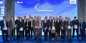 Les lauréats et parrains des prix de l'édition 2017