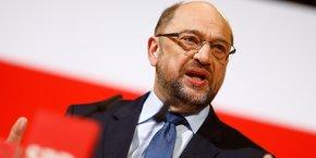 Martin Schulz, le dirigeant du SPD