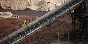 Avec l'entrée en production du site d'Okondja (province du Haut-Ogooué), le Gabon ambitionne de devenir le premier producteur mondial de manganèse dici à 2019.