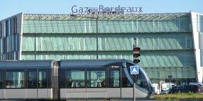 Siège de Gaz de Bordeaux, place Ravezies.