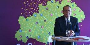Le président du CD34, Kléber Mesquida.
