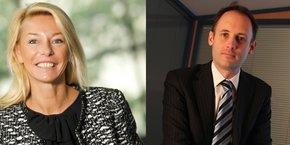 Sophie Pécriaux, fondatrice et dirigeante de City One, et Nicolas Lixi, président France de City One