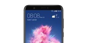 Dans son communiqué, Huawei précise que son P Smart dispose « d'un écran FullView bord à bord, et d'un format 18 :9 pour bénéficier d'une immersion complète », « d'une batterie de 3000 Mah », et « d'un double appareil photo de 13 MP et 2 MP ».