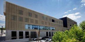 Les nouveaux locaux (6000 m2) de la Chambre de métiers de l'Hérault, dans le quartier d'Alco à Montpellier