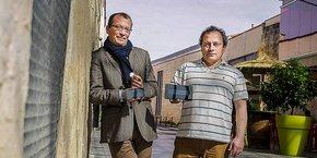 Nicolas Bournet et Serge Chaumette, cofondateurs de NFC-I