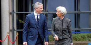 La journée sur les transformations économiques en France et les questions de réforme de la gouvernance en zone euro, a débuté par un échange public entre le ministre de l'Économie et des Finances, Bruno Le Maire, et la directrice générale du FMI, Christine Lagarde.
