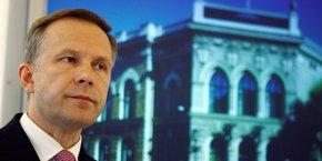 Ilmars Rimsevics gouverne la banque centrale de Lettonie depuis 2001.