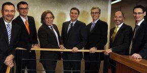 Les associés du groupe Fiduciaire Lyonnaise