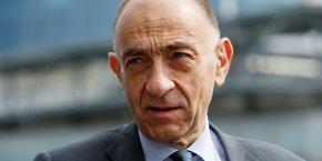 Jean-Marc Janaillac, PDG d'Air France.