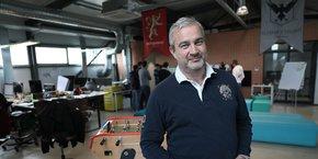 Frédéric Senan est le directeur général de Morning depuis un an.