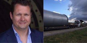 Dirk Ahlborn, PDG d'Hyperloop TT, explique dans une interview exclusive à la Tribune le projet qui sera mené sur le site de Francazal.
