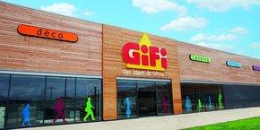 Le magasin Gifi à Agen.