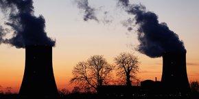 Vue de la centrale nucléaire de Golfech, en France.