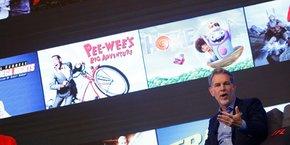 Reed Hastings, co-fondateur et DG de Netflix.