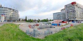 A Strasbourg, la Caisse des dépôts va garantir une opération de promotion immobilière voisine du siège du parlement européen.