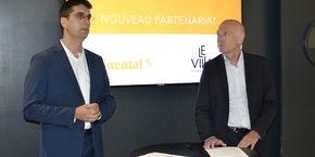 Le Village by CA vient de nouer un partenariat avec Continental.