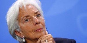 Le fmi va reviser a la baisse ses previsions pour la zone euro, dit lagarde