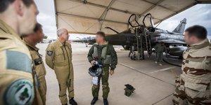 Général Lavigne chef d'état-major de l'armée de l'air