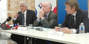 Hervé Morin, Dominique Bussereau et François Baroin