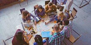 Management, ressources humaines, startup, travail collaboratif, coopération, employés, salariés,