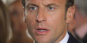 Macron chute de 12 points par rapport a la fin juin, selon odoxa