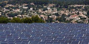 parc solaire de Gardanne