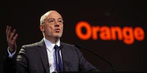 Stéphane Richard, Pdg d'Orange