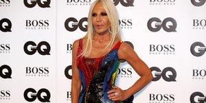 Donatella Versace, mode, fashion, haute couture,