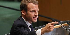 Emmanuel Macron, discours à la 73e Assemblée générale de l'ONU