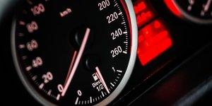 automobile, tableau de bord, diesel