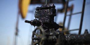 Pétrole, Etats-Unis, gaz, pumpjack, derrick, puits, pompe,