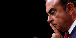 Carlos Ghosn, Renault (photo éclaircie)