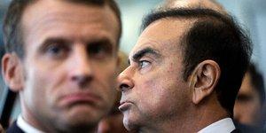 Macron et Ghosn